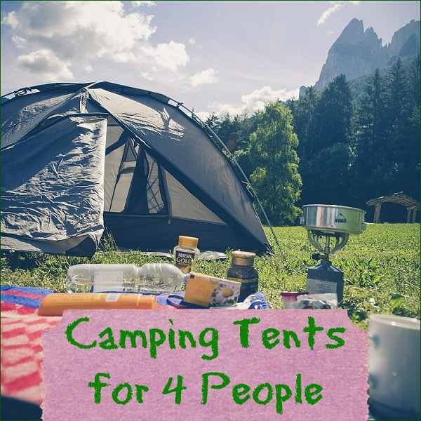 camping tents for 4 people