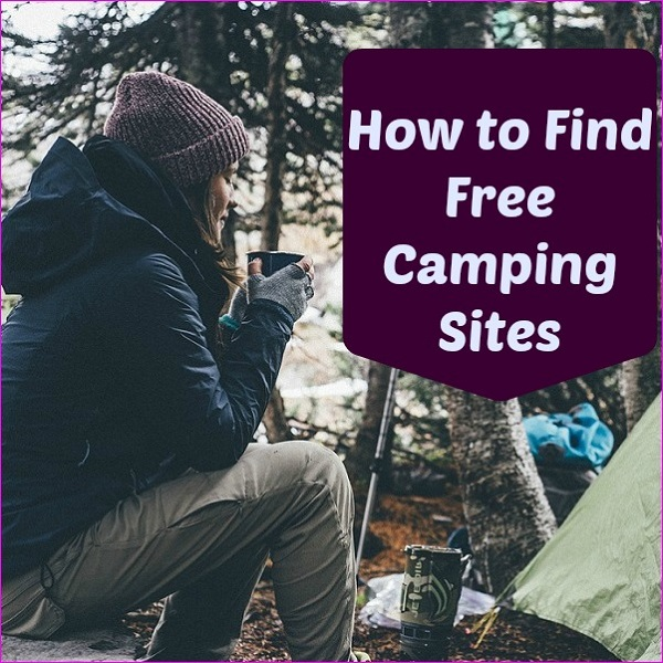 how to find free camping sites