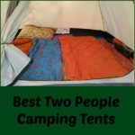 Two People Camping Tents