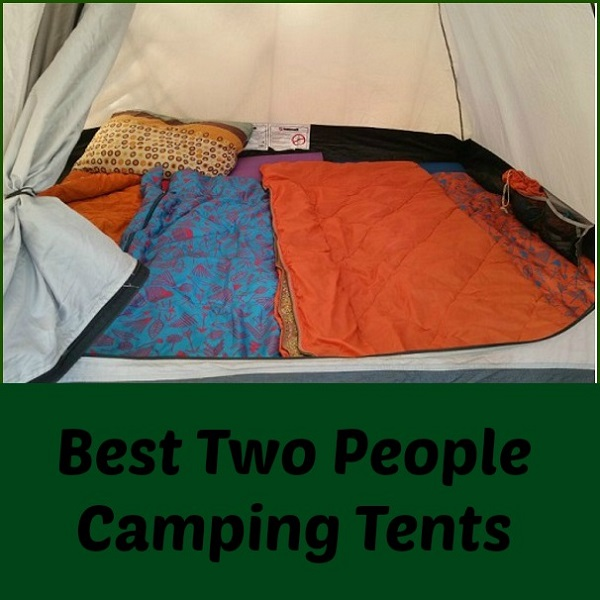& Two People Camping Tents