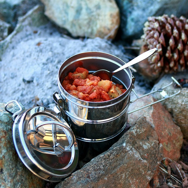 Hobo stew is one of the easy camp meal ideas