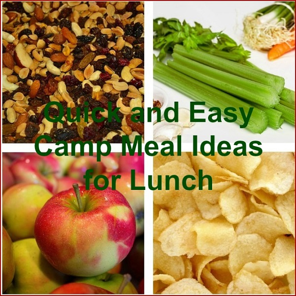 Quick and Easy Camp Meal Ideas for Lunch