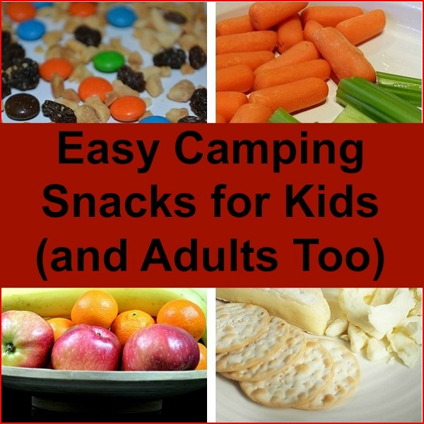 Easy Camping Snacks Kids Love (And Adults Too)