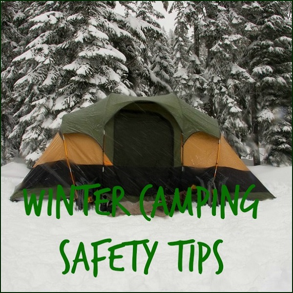 winter camping safety tips