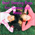 sleeping bags for tweens and teens