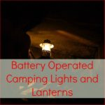 battery operated camping lights and lanterns