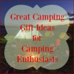 great camping gift ideas