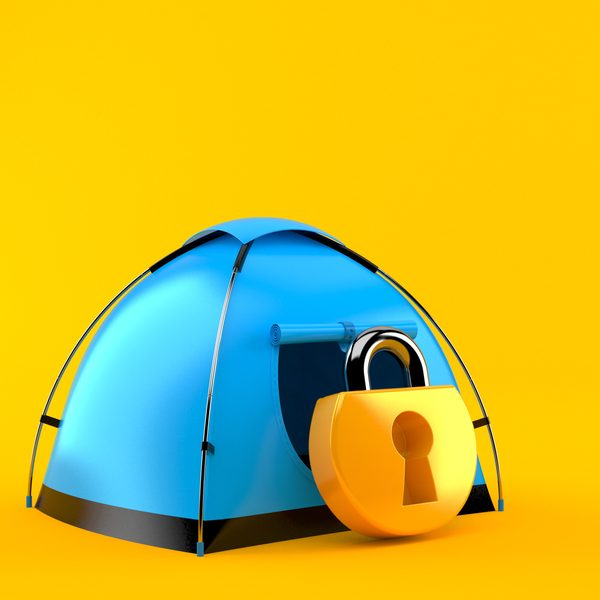 How to Lock a Tent at Night